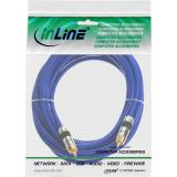InLine® Cinch Kabel AUDIO, PREMIUM, vergoldete Stecker, 1x Cinch Stecker / Stecker, 3m